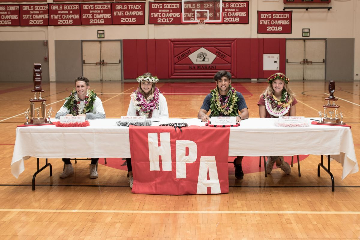 Four Hpa Seniors Sign Their National Letters Of Intent Post Detail