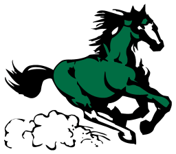 Mill Springs Academy Mustang Mascot