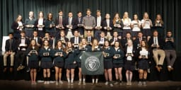 earned First Honors every single semester since they began at Northwest Catholic receive a plaque for their remarkable achiev
