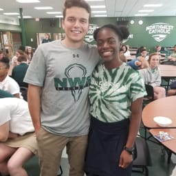 NWC Link Crew Leaders James Nicholas and Kiana Woods Honored for Service