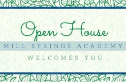 MSA Welcomes You to an Open House