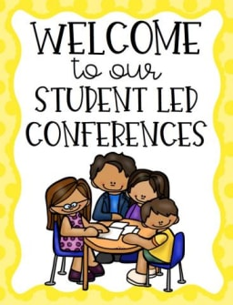Welcome to our Student Led Conferences