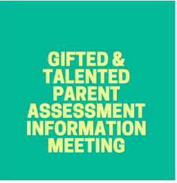 Kinder Parent Assessment Infomation Meeting