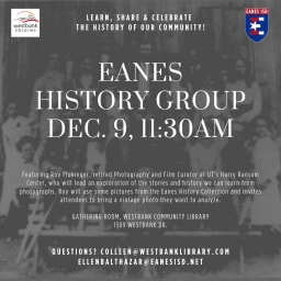 Eanes History Talks