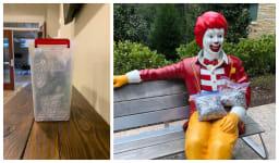 Ronald McDonald & Cornerstone Pop Tabs