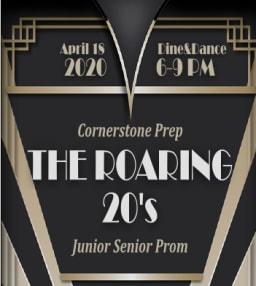 Cornerstone Prep Roaring 20s Prom