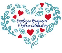 Employee Recognition & Retiree Celebration logo