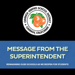Title Arwork for Message from the Superintendent Reimagining OUSD Schools