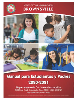 First page of the PDF file: 2020-2021_Student_Parent_Handbook_SPAN