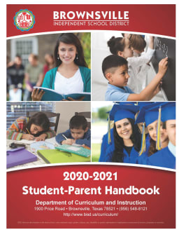 First page of the PDF file: 2020-2021_Student_Parent_Handbook