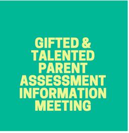 Kinder Parent Assessment Infomation Meeting