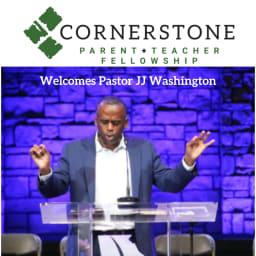 JJ Washington will speak at Cornerstone PTF