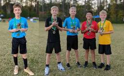 Cornerstone Flag Football MVP and Character Award Winners 2020