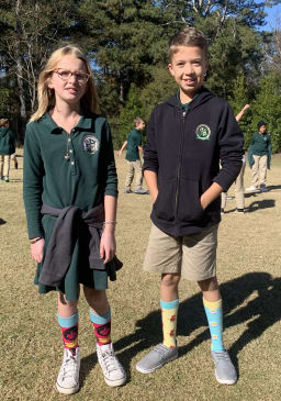 Celebrating with Silly Socks