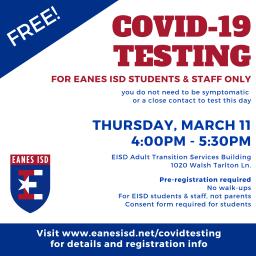 COVID-19 Testing Feb 27