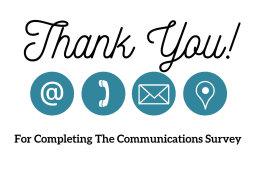 Thank You from Communications