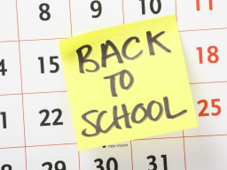 Back To School Calendar Update