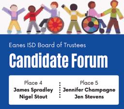 EISD Candidate Forum
