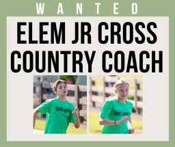 Cross Country Coach Needed