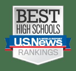Logo of US News & World Report's Best High Schools Rankings