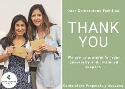 Cornerstone 2021 Teacher Appreciation Thank You!