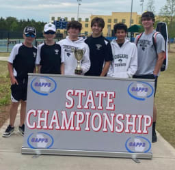 Cornerstone Prep Boys Team Places 2nd at State
