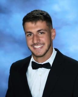 yearbook photo of Joseph Mazzarella