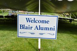 Alumni Weekend Sign