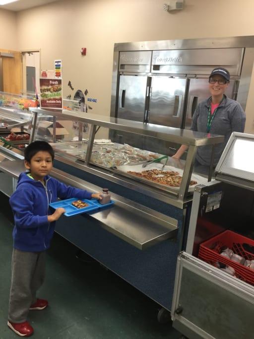 Lunch - Cape Hatteras Elementary School