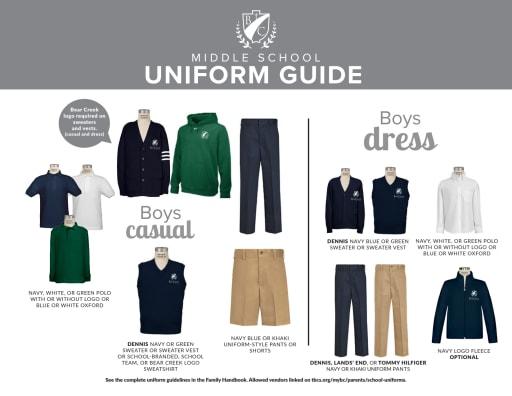 School Uniforms - The Bear Creek School