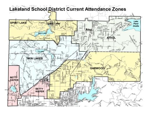 Attendance Zones Lakeland Joint School District 272