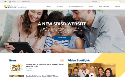 6 Incredible District Website Redesigns To Inspire Your Own Blog