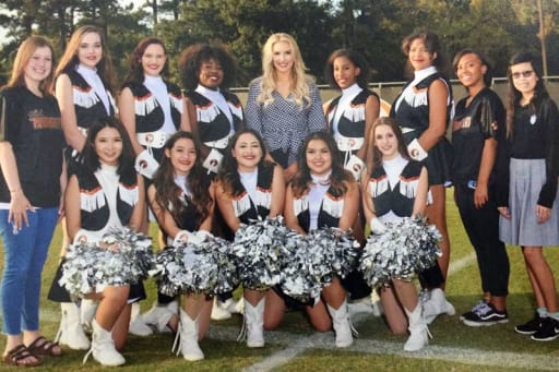 The Pantherettes are the St. Pius X drill and dance team. The team performs  at pep rallies dd656bdd77d2c