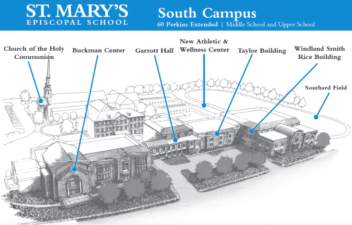 Contact And Campus Map St Mary S Episcopal School