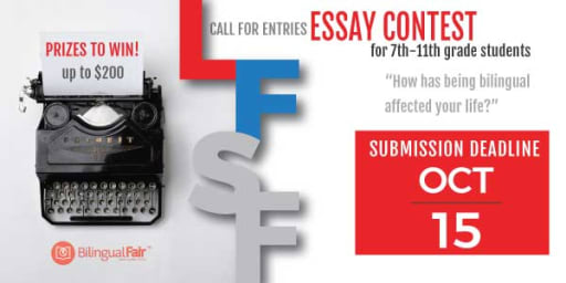 Example Of A Thesis Statement For An Essay Lfsf At The Bilingual Fair How To Write A Thesis Essay also Essay On High School Experience Lfsf  The Bilingual Fair Essay Contest  News Post  Lyce  A Healthy Mind In A Healthy Body Essay