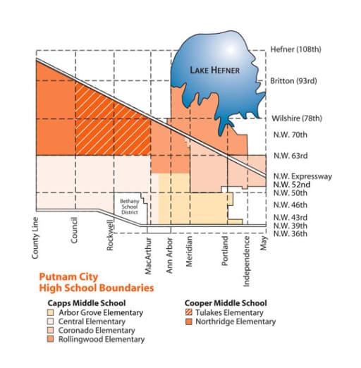 Putnam City High School Boundaries - Putnam City Schools
