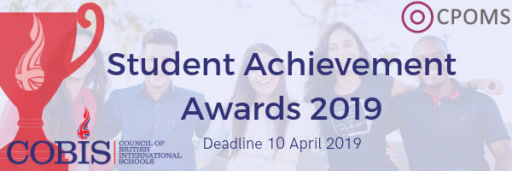 2019 Student Achievement Awards - Council of British International