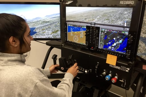 North Creek High School students get a taste of aviation and