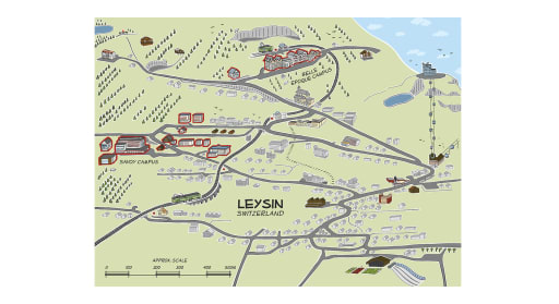 Geneva College Campus Map.Explore The Campus Leysin American School In Switzerland