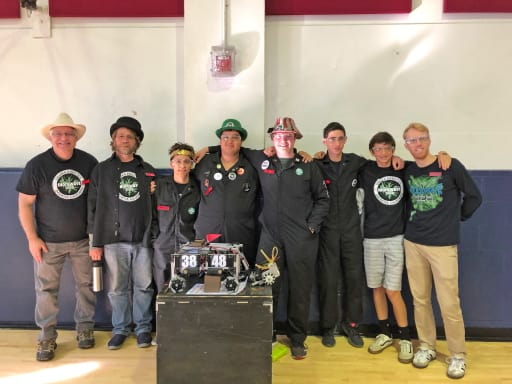 Shockwave High School Robotics 1st Competition In 2018 2019 Season