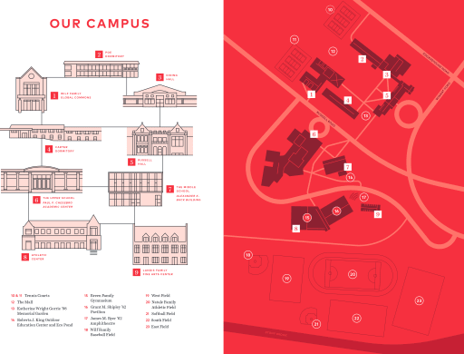 Directions and Campus Map - The Hun of Princeton on