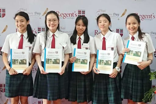STUDENTS TAKE TOP THAI LITERATURE PRIZES | Detail - Shrewsbury