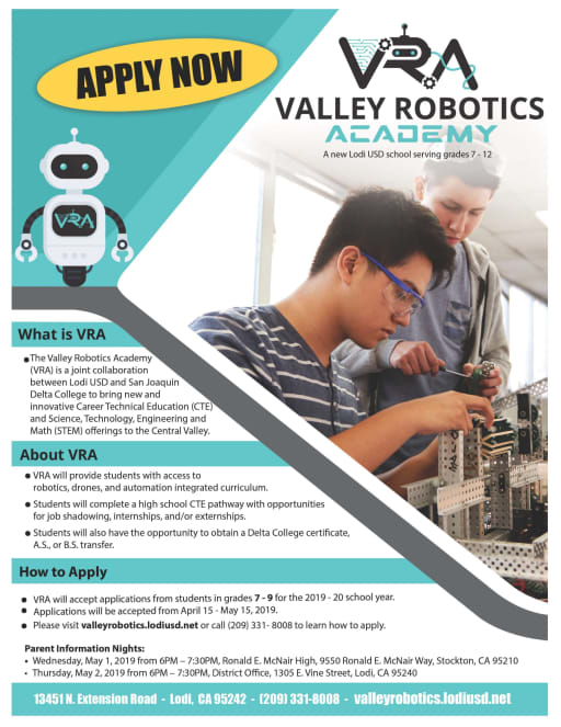 About Us - Valley Robotics Academy