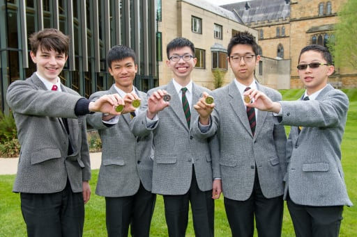 Top placing for boys in Intermediate Maths Olympiad | Post Detail Page