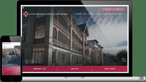 School Web Design Portfolio Finalsite