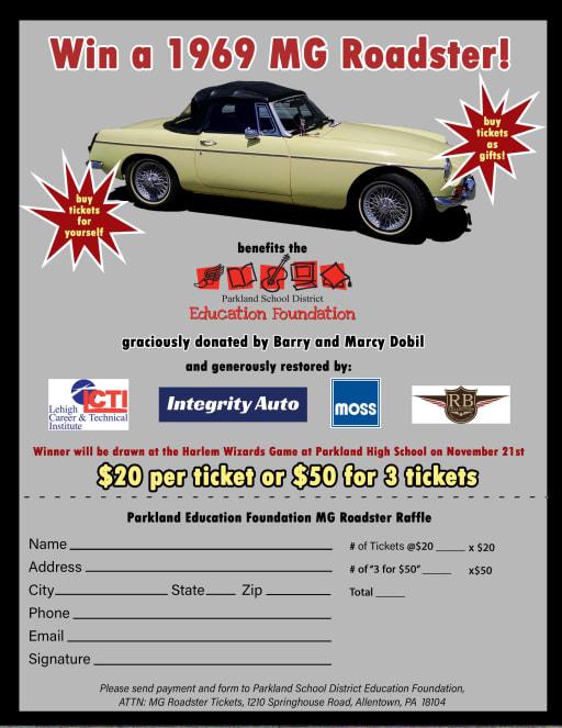 Troxell Auto Sales >> Mgb Car Story Parkland School District