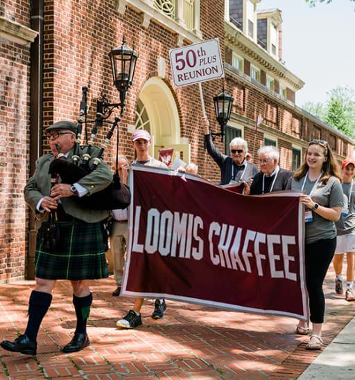 Loomis Chaffee Reunion Parade