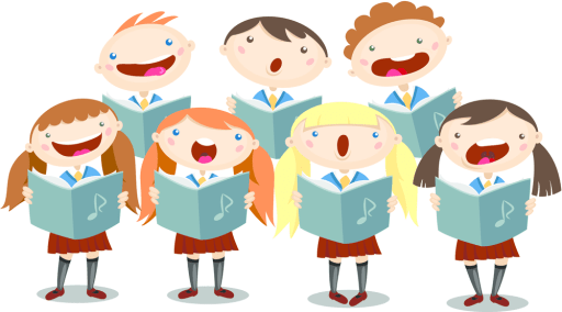Image result for school choir cartoon