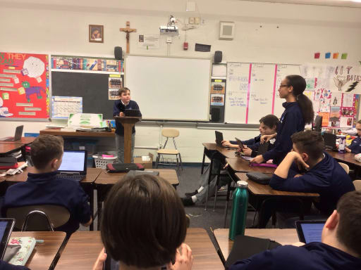 Middle School (6-8) - Our Lady of Good Counsel School