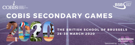 COBIS Secondary Games 2020 - Council of British